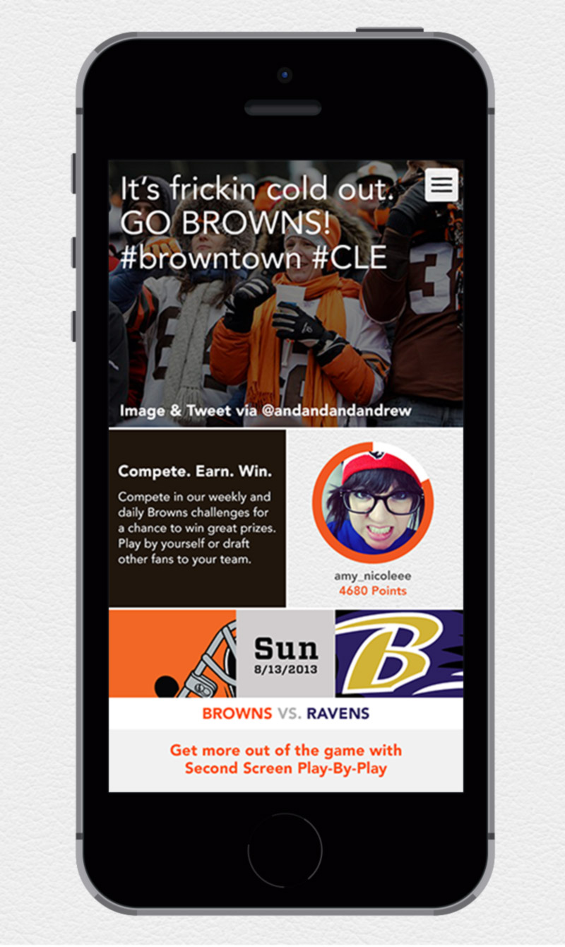 2 Night Stand: Brown's Town App Concept
