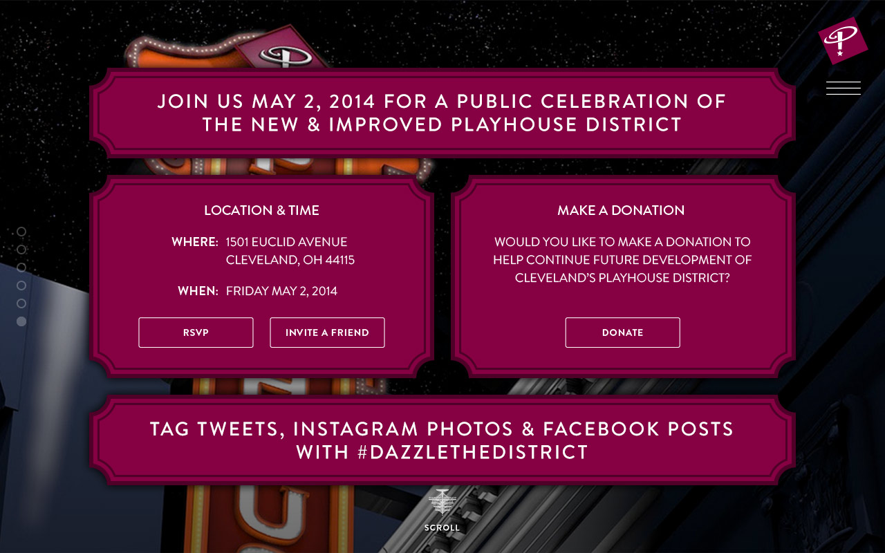 Playhouse Square Dazzle The District RSVP