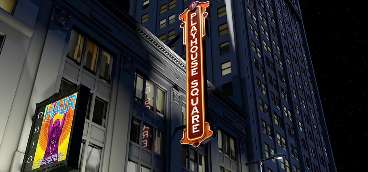 Playhouse Square Dazzle The District